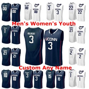Uconn Huskies Jerseys Christian Vital Jersey Boatright Hamilton Ray Josh Carlton Tyler Polley 2020 Basketball Mens Jerseys Custom Stitched