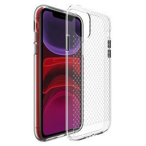 Para iPhone 11 Pro Max XR XS Max 6 7 8 Plus SE 2020 claro transparente suave resistente armadura a prueba de golpes de caja del teléfono Coque
