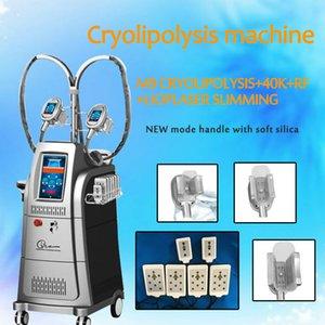 Новый тип тучный замерзая вакуум cryolipolysis тучный замерзая уменьшая кожу радиочастоты затягивая оборудование оборудование красотки