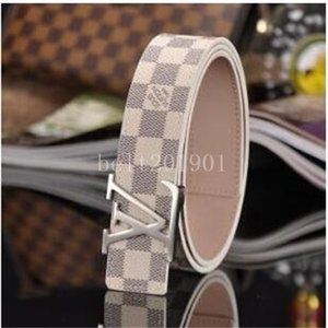Leather Belt Designer Belts Men and Women High Quality New Mens Belts Luxury Classic Checked Belts