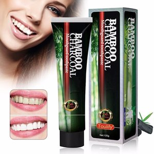 MABOX Fresh Mint Sensitivity Bamboo Charcoal Toothpaste Extra Whitening Relieve Tooth Sensitivity Protects Against Cavities 120g