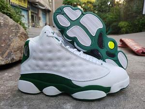 저렴한 J13 레이 앨런 PE 럭키 그린 남자 농구 신발 414571-125 좋은 품질 13S 화이트 블랙 스포츠 디자이너 트레이너 운동화 크기 8-13
