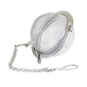 Thé en acier inoxydable Pot Infuser Sphère de verrouillage Spice Boule à thé Passoire Passoire à thé infuseur filtre infuseur ZZA1828