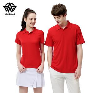 Adhemar ist ein neues kurzärmliges T-Shirt mit Freizeitmode für Business- und Sport-Poloshirts