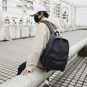 Amazing2019 Jianyue Han Tendance Temps libre sac à dos Capacité Collège Moyen Élève du secondaire imperméable Un sac d'ordinateur Paquet