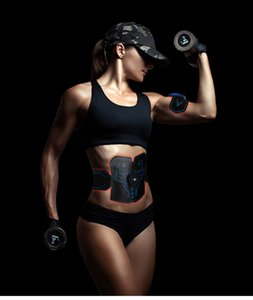 Hip Abdominal Exerciser Muscle Stimulator Trainer Electric Vibrating Slimming Belt Fitness Massager Buttocks ABS Machine