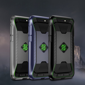 Gros Black Shark Case Protection complète du cadre pare-chocs antichoc Mat Cover Cover Original pour Xiaomi Black Shark Téléphone cas