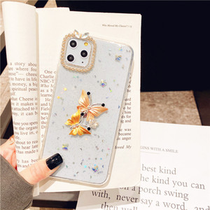 Fashion Beautiful Diamond Butterfly Bling Glitter Star Crystal Case Cover For Samsung Galaxy Note 10 9 8 S20 Ultra S10 5G S9 S8 Plus S10E
