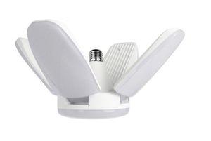 LED Kolye Işıklar Katlanabilir Fan Blade Ampüller Tüpler 60W E27 Süper Parlak Açısı Ayarlanabilir LightsLighting LED Lamba