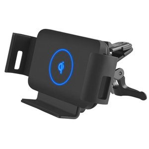 Car Wireless Charger 10W Qi Fast Smart Phone Charger Holder for Samsung Galaxy Fold Note 10 9 S10 S9 iPhone Xiaomi Huawei Mate X