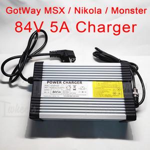 Электрическое одноколесное зарядное устройство 84V 5A GotWay Nikola Msuper X Monster быстрое зарядное устройство, подходящее для GotWay всех моделей 84 В EUC