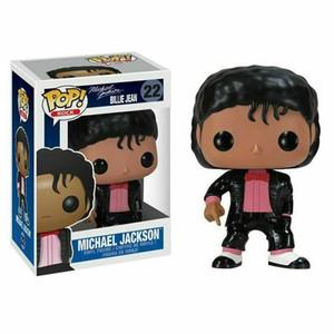 FUNKO POP MICHAEL JACKSON BATER Figuras Billie Jean BAD Ação para crianças brinquedo de presente de Natal