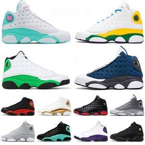 nike air jordan 13 13s XIII 2020 Sapatos Novos Jumpman Playground Tênis de basquete para mulheres Island Green Cap And Gown Court Purple Lakers flint 13 DMP Chicago Formadores