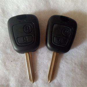 Replacement 2 Buttons Car Remote Key Case Shell Cover Fob Blank Uncut Blade For CITROEN SAXO XSARA BERLINGO PICASSO SX9