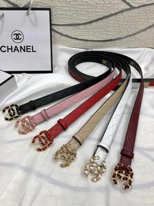 Cinturón de 2020 la venta caliente de alta calidad unisex de la correa de cuero de moda casual de negocios perla seis colores con la caja