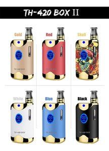 TH-420 II 100% Original Kangvape Starter Kit 650mAh VV TH420 2 Battery Box Mod 0.5ml 92a3 Thick Oil Cartridge Tank Authentic