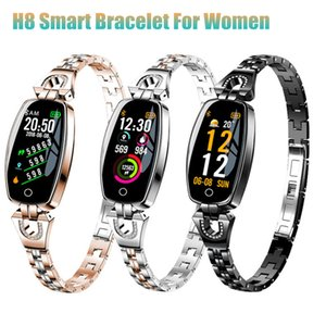 H8 Frauen Smart Armband Blutdruck Pulsmesser Fitness Tracker IP67 Wasserdichte Weibliche Smart Watch