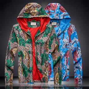 New Spring Autumn Mens Casual Streetwear Hoodie Jacket Men Waterproof Clothes Men'S Windbreaker Coat Male Outwear Plus Size 4XL