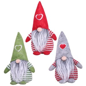 Christmas New Products Decorations Love Hat Faceless Doll Doll Plush Toy Children Christmas Gifts