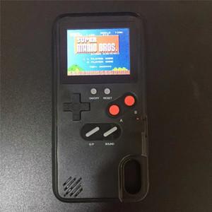 Цветной дисплей 36 Классический игровой телефон чехол для iPhone X XS Max XR 6 7 8 Plus Консоль Game Boy Мягкая TPU Силиконовая крышка IPXM9