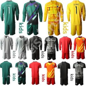Gençlik Uzun Kollu Fransa 1 Hugo Lloris Kaleci Futbol Forma Seti Çocuk Kaleci GK 16 Steve Mandanda 23 AREOLA Çocuklar Futbol Gömlek Setleri