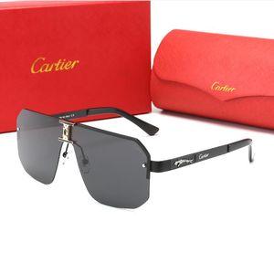 Европа и США женские очки роскошные солнцезащитные очки мужчины роскошный дизайнерский бренд 1L Cartier 1L sunglasse