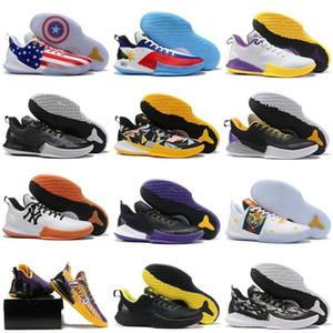 Heiße Mens Mamba Fokus EP Basketball-Schuhe für Herren Sportschuhe Sport-Schuh-Mann-Turnschuh Mann-Turnschuh Schuh-athletische Schuhe Größe 40-46