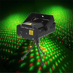 Mini Red Green Moving Star Dot Effect USB Laser Projector Light for DJ Gig Home Show Party Stage Ligting Gift