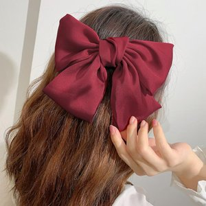 16 Colors New Grosgrain Ribbon Bow Hair Clip Girl Hair Jewelry Accessories With Clip Boutique Bows Hairpins Hair Ties