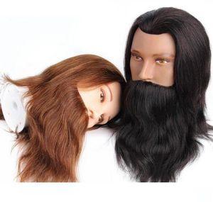 Escuros Cabelos H Cabelo Humano Mannequine Cabeça de alta qualidade Indiano Castanho Castanho Claro Cor celebridade perucas frete grátis