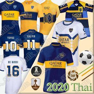 2020 2021 Boca Juniors maglia da calcio TEVEZ MARADONA DE ROSSI CARLITOS GAGO Camiseta de fútbol OSVALDO PEREZ PAVON Thailandia maillot de foot