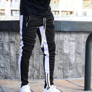 Mens Joggers Casual Pants Fitness Men Sportswear Tracksuit Bottoms Skinny Sweatpants Trousers Black Gyms Jogger Track Pants1