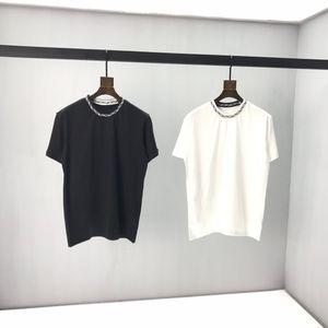 2020 France du dernier mode printemps et été nouveau top fil sauvage de haute qualité casual jacquard en coton épais T haut T-shirt vente chaude