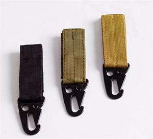 Im Freien taktischen Nylonmaterial-Schnalle Molle Schlüsselanhänger Gürtel Universal-Key Buckle für kampierenden Bergsteigen Kostenlosen Versand