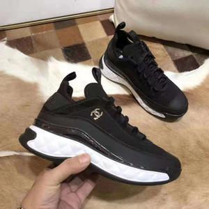 T260 Neueste echte echtem Leder Damen-zufällige Turnschuhe hochwertige flache Schuhe High Heels Schuhe Mode edel