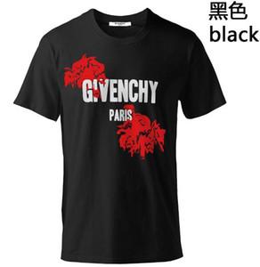 Designer Hommes T-Shirts Vêtements Europe et États-Unis L'impression de haute qualité dans le monde est très parfaite Head Head