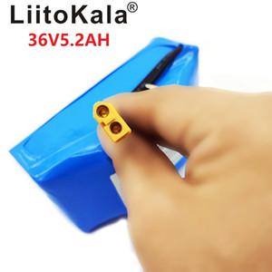 """LiitoKala 36V 5.2Ah 5200mAh высокого сливного 2 колеса электрический самокат самобалансировани литиевая аккумуляторная батарея для самобалансирующейся приспосабливает 6.5"""""""