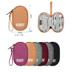 Portable Bag Travel Carrying Case for Small Electronics and Accessories Earphone Earbuds Cable Change Purse Travel Pouch Bag