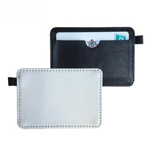 Portaimpresión en blanco para sublimación Funda de la bolsa para bus o tarjeta bancaria Transferencia de calor consumibles materiales de impresión 11 * 7 cm al por mayor
