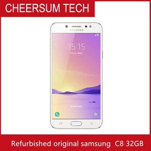 Samsung Galaxy C8 SM-C7100 Unlocked Original 16MP Front Camera dual sim Octa Core 4G Lte Smartphone mobile phone