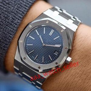 Высокое качество роскошные мужские часы XF версия 39 мм royal oak 15202 15400 jumbo экстра-тонкий 8.5 мм Япония miyota 9015 механизм с автоподзаводом водонепроницаемый
