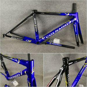 XS / S / M / L BB386 무료 배송 다크 블루 블랙 T1000 3K / UD 도로 자전거 C60 탄소 도로 프레임