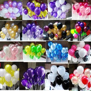10inch 2.2g Pearl Latex Balloons Happy Birthday Party Wedding Christmas Decoration Balloon Kids Toy Air Balls Globos