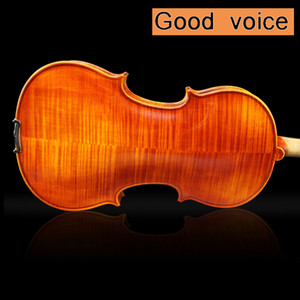 High quality handmade violin 4 4 full size natural grain Fiddle craft handmade paint With accessories, Brazilian bow 4 stringed instrument