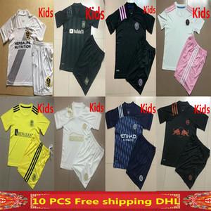 2020 MLS New York City Atlanta United Kids Fußball-Trikot 20 21 LAFC LA Galaxy Inter Miami Nashville SC Seattle Sounders FC Kinder Shirt