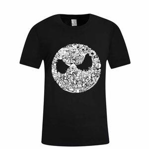 Hillbilly Moda Halloween divertido gráfico T Shirt Mujeres de Halloween Noche de Carnaval La camiseta de manga corta Topstee de ropa unisex
