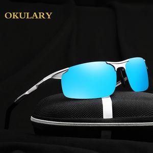 2018 Men Goggle Polaroid Sunglasses 5 Color Plastic Frame Sunglasses With Free Shipping Y19052001