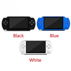 4.3 inch screen X6 Handheld Game Player Built-In 1000+ Childhood Classic Games TV Output 8G ROM 8 16 32 128 bit Portable Video Game Console