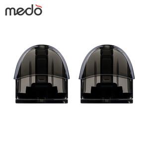 2 шт. Medo Pod Cartridge 2 мл для Medo Vape Pod Starter Kit 2 мл Емкость бака распылитель Электронная сигарета паров испаритель картридж