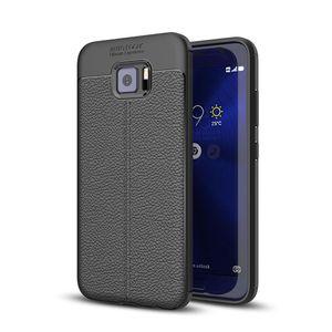 Pour Asus Zenfone V V520KL Litchi Texture pleine couverture TPU protection arrière cas de couverture
